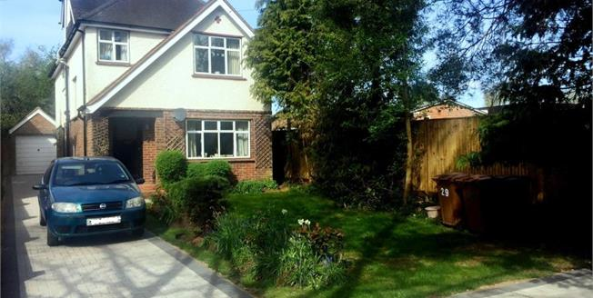 Guide Price £640,000, 4 Bedroom Detached House For Sale in Send, GU23