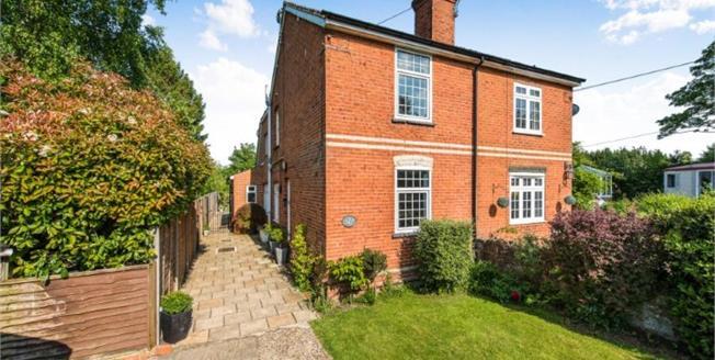 Asking Price £615,000, 3 Bedroom Semi Detached House For Sale in Wood Street Village, GU3