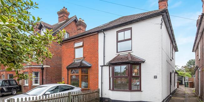 Guide Price £499,950, 3 Bedroom Semi Detached House For Sale in Chilworth, GU4