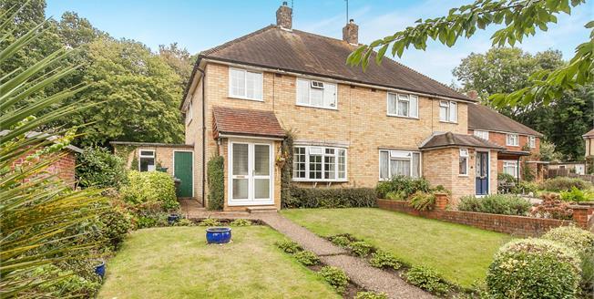 Offers in the region of £399,950, 3 Bedroom Semi Detached House For Sale in Wonersh, GU5