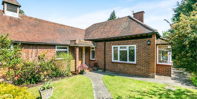 Asking Price £550,000, 2 Bedroom Semi Detached Bungalow For Sale in Guildford, GU1