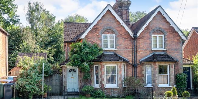 Asking Price £475,000, 2 Bedroom Semi Detached House For Sale in Gomshall, GU5