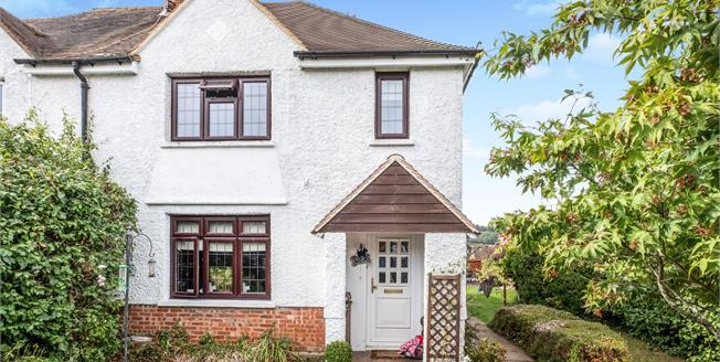 Offers in excess of £500,000, 3 Bedroom Semi Detached House For Sale in Chilworth, GU4