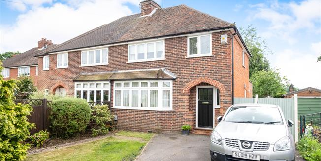 Guide Price £485,000, 3 Bedroom Semi Detached House For Sale in Fairlands, GU3