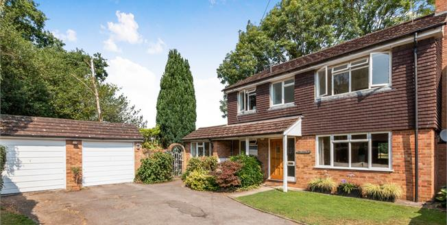 Guide Price £895,000, 4 Bedroom Detached House For Sale in Pirbright, GU24