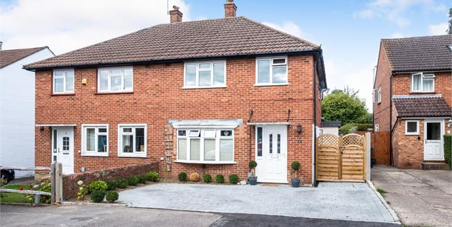 Offers Over £425,000, 3 Bedroom Semi Detached House For Sale in Guildford, GU2