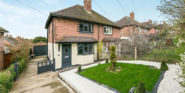 Offers in excess of £350,000, 2 Bedroom Semi Detached House For Sale in Guildford, GU2