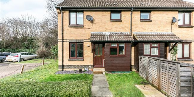 Guide Price £265,000, 1 Bedroom End of Terrace House For Sale in Guildford, GU4