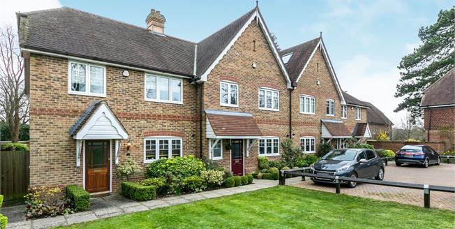 Guide Price £625,000, 3 Bedroom End of Terrace House For Sale in Shalford, GU4