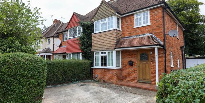 Guide Price £485,000, 3 Bedroom Semi Detached House For Sale in Guildford, GU2