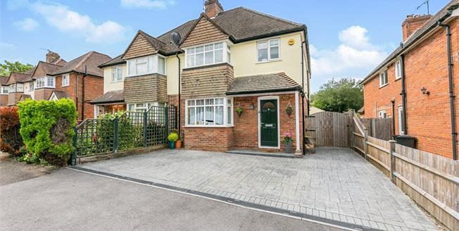 Guide Price £525,000, 4 Bedroom Semi Detached House For Sale in Guildford, GU2