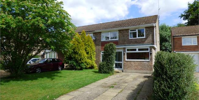 Guide Price £375,000, 3 Bedroom Semi Detached House For Sale in Haslemere, GU27