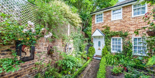 Asking Price £575,000, 2 Bedroom End of Terrace House For Sale in Hampton, TW12