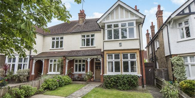 Guide Price £2,200,000, 5 Bedroom Semi Detached House For Sale in Richmond, TW10