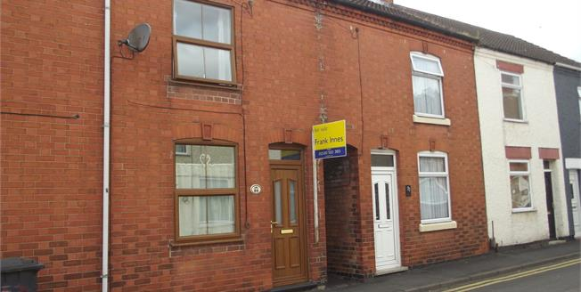 Asking Price £95,000, 2 Bedroom Terraced House For Sale in Coalville, LE67