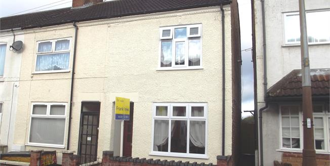 Asking Price £134,950, 3 Bedroom End of Terrace House For Sale in Coalville, LE67