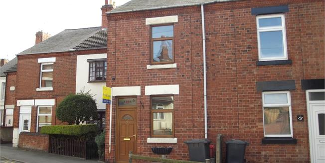 Offers Over £95,000, 2 Bedroom Terraced House For Sale in Hugglescote, LE67