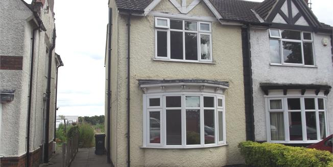 Offers Over £150,000, 3 Bedroom Semi Detached House For Sale in Coalville, LE67