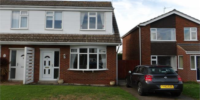 Asking Price £175,000, 3 Bedroom Semi Detached House For Sale in Shepshed, LE12