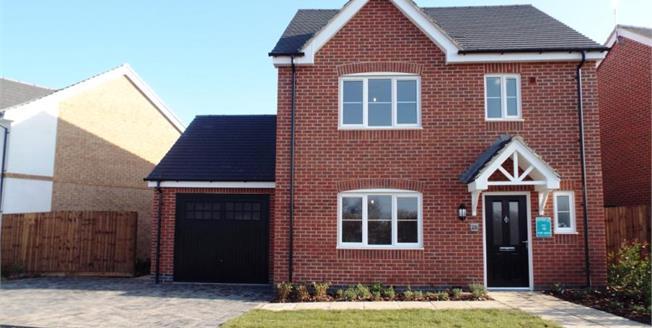 £259,995, 3 Bedroom Detached House For Sale in Stanton Under Bardon, LE67