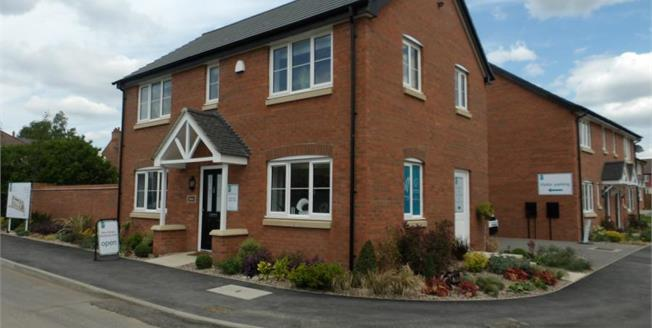 £264,995, 3 Bedroom Detached House For Sale in Stanton under Bardon, LE67
