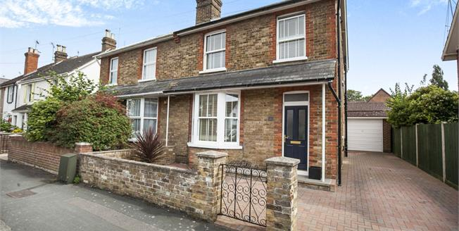 Guide Price £535,000, 3 Bedroom Semi Detached House For Sale in West Byfleet, KT14