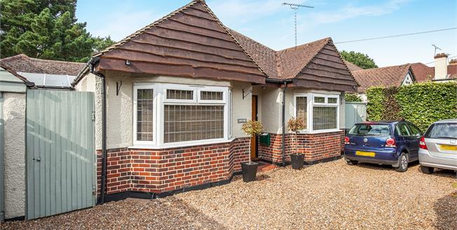Guide Price £775,000, 4 Bedroom Detached Bungalow For Sale in West Byfleet, KT14