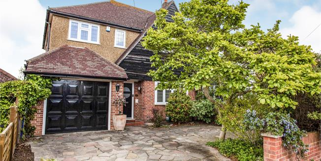 Asking Price £675,000, 4 Bedroom Semi Detached House For Sale in Worcester Park, KT4