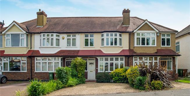 Asking Price £490,000, 3 Bedroom Terraced House For Sale in Worcester Park, KT4