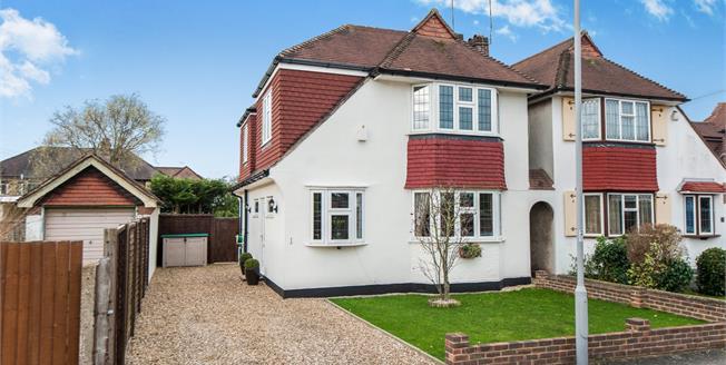 Asking Price £650,000, 3 Bedroom Link Detached House For Sale in New Malden, KT3