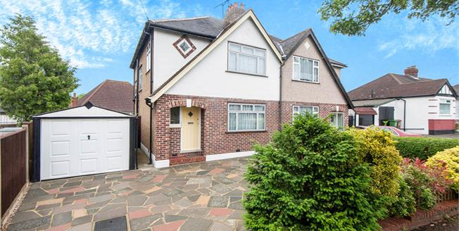 Asking Price £550,000, 3 Bedroom Semi Detached House For Sale in Worcester Park, KT4