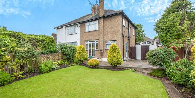 Asking Price £575,000, 3 Bedroom Semi Detached House For Sale in Worcester Park, KT4