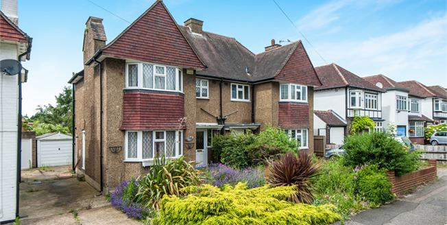 Asking Price £550,000, 3 Bedroom Semi Detached House For Sale in Epsom, KT17