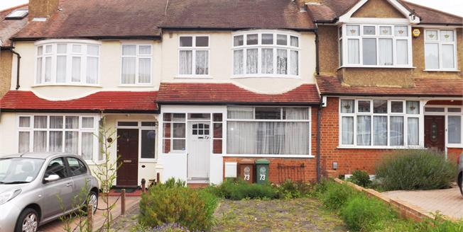 Asking Price £450,000, 3 Bedroom Terraced House For Sale in Worcester Park, KT4