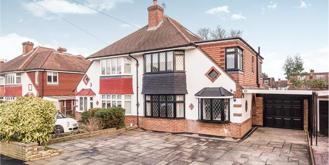 Asking Price £650,000, 3 Bedroom Semi Detached House For Sale in Worcester Park, KT4