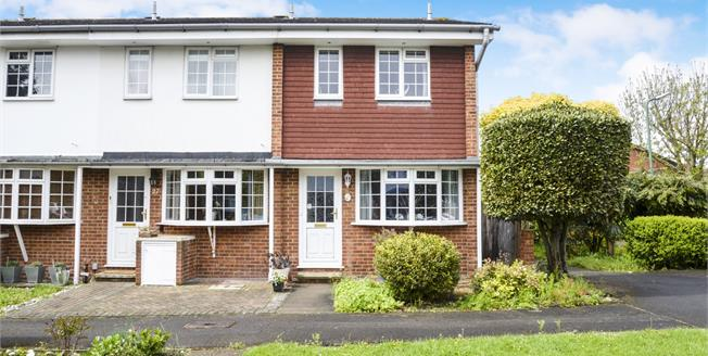 Asking Price £395,000, 2 Bedroom End of Terrace House For Sale in Worcester Park, KT4