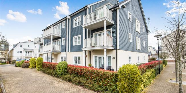 Guide Price £450,000, 2 Bedroom Flat For Sale in Worcester Park, KT4