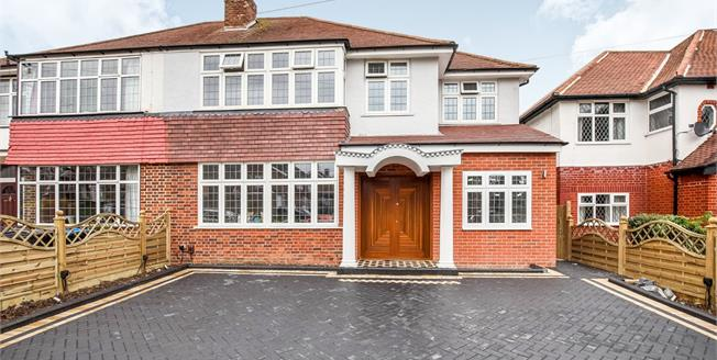 Asking Price £950,000, 4 Bedroom Semi Detached House For Sale in Worcester Park, KT4