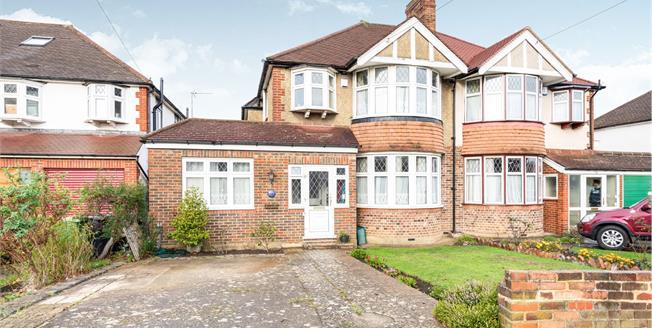 Asking Price £699,950, 4 Bedroom Semi Detached House For Sale in Worcester Park, KT4