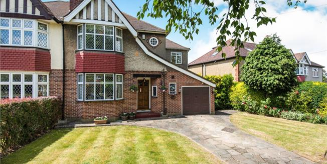 Asking Price £750,000, 4 Bedroom Semi Detached House For Sale in Worcester Park, KT4