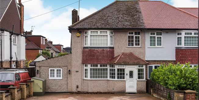 Asking Price £575,000, 4 Bedroom Semi Detached House For Sale in Ewell, KT17