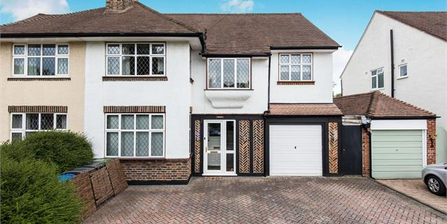 Asking Price £790,000, 5 Bedroom Semi Detached House For Sale in Worcester Park, KT4