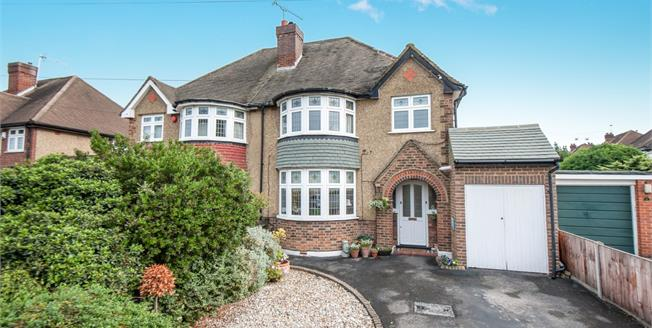 Guide Price £550,000, 3 Bedroom Semi Detached House For Sale in Worcester Park, KT4