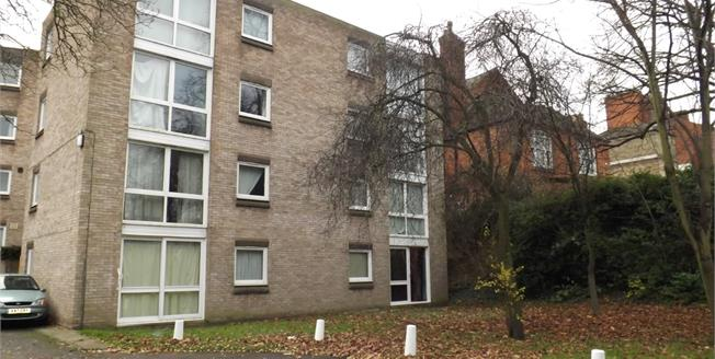 Guide Price £90,000, 1 Bedroom Flat For Sale in Leicester, LE2