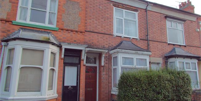 Offers Over £150,000, 2 Bedroom Terraced House For Sale in Leicester, LE3