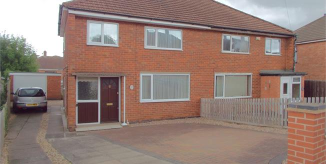 Asking Price £184,950, 3 Bedroom Semi Detached House For Sale in Thurmaston, LE4