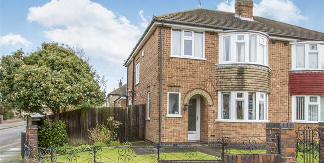 Asking Price £189,950, 3 Bedroom Semi Detached House For Sale in Leicester, LE4