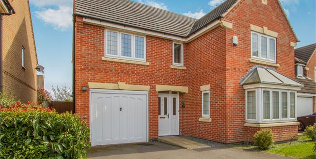 Asking Price £325,000, 4 Bedroom Detached House For Sale in Leicester, LE3