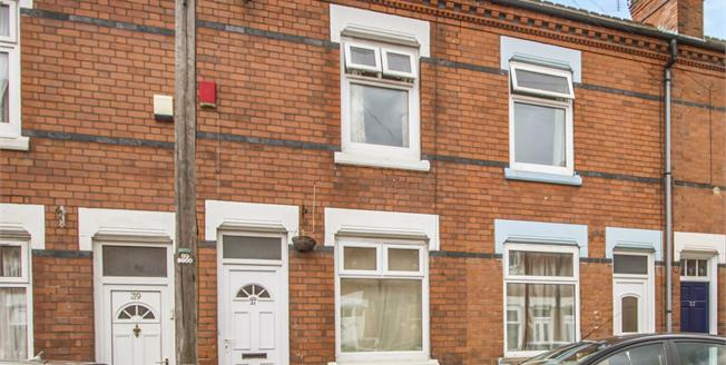 Price on Application, 2 Bedroom Terraced House For Sale in Leicester, LE2