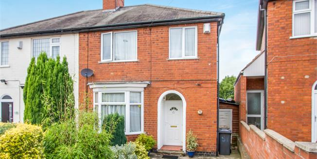 Offers Over £180,000, 3 Bedroom Semi Detached House For Sale in Leicester, LE5